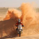 Thomas Bourgin of France rides his Ktm o