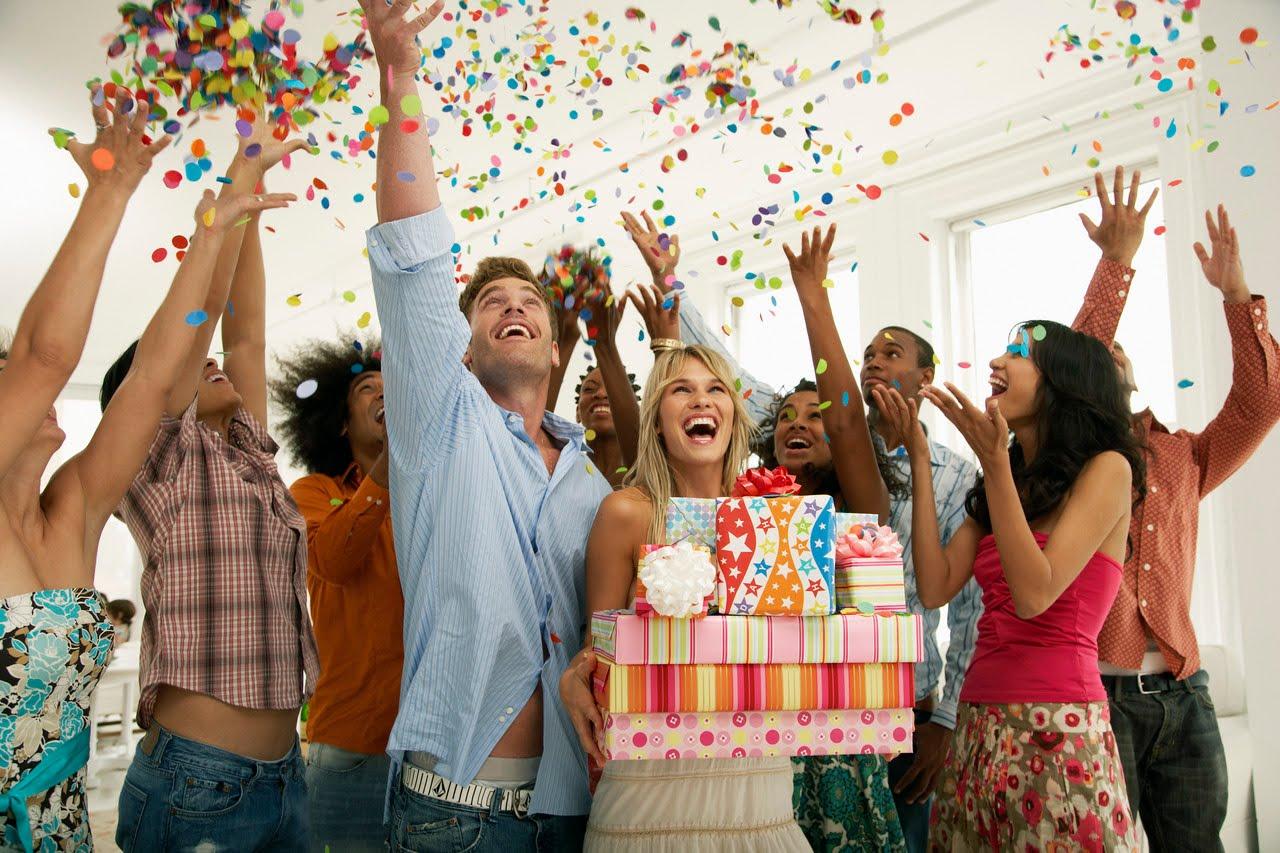 Как день рождения сделать веселым